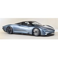 TrueScale Miniatures McLaren Speedtail Presentation Car 1:43