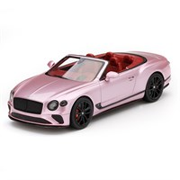 TrueScale Miniatures Bentley Continental GT Convertible - Passion Pink 1:43