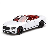 TrueScale Miniatures Bentley Continental GT Convertible - Ice White 1:43