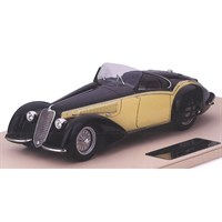 TrueScale Miniatures Alfa Romeo 8C 2900B Spider Carrozzeria Touring Superleggera - Cream 1:18