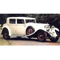 TrueScale Miniatures Bentley 8 Litre 1930 - White 1:18