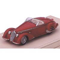TrueScale Miniatures Alfa Romeo 8C 2900B Spider Carrozzeria Touring Superleggera - Red 1:18