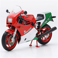 TrueScale Miniatures Ducati 750 F1 - Red/White/Green 1:12