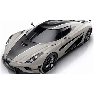 AUTOart Koenigsegg Regera Ghost Package 2018 - Matt Black 1:18