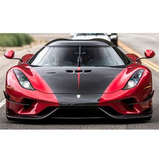 AUTOart Koenigsegg Regera Ghost Package 2018 - Candy Red 1:18