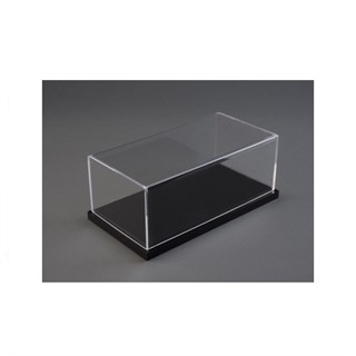 Black Gloss Base Display Case 1:43