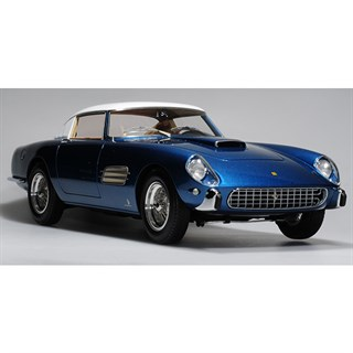 BBR Ferrari Superfast 4.9 1957 - Blue/White 1:18