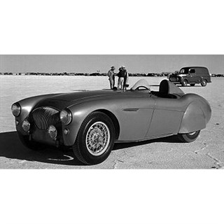 Bizarre Austin Healey - 1953 Bonneville Speed Records - 1:43