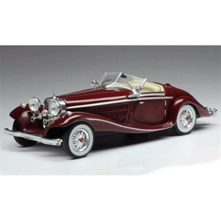 IXO Mercedes 540K Special Roadster 1936 - Red 1:43
