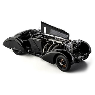 CMC Mercedes SSK 1934 - Black Prince - Count Trossi 1:18