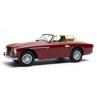 Cult Aston Martin DB2-4 Mk.II FHC Notchback 1955 - Red/Beige 1:18