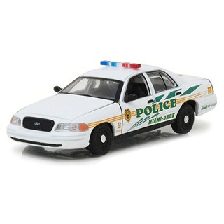 Greenlight Collectibles Ford Crown Victoria Police Interceptor - CSI Miami 2002-12 - 1:43