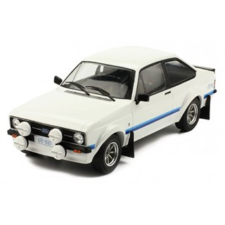 IXO Ford Escort Mk.II RS1800 1977 - White 1:18