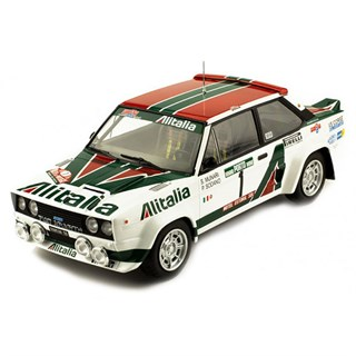 IXO Fiat 131 Abarth - 1978 Rally France - #5 S. Munari 1:18