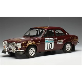 IXO Ford Escort RS 1600 Mk1 - 1974 RAC Rally - #10 H. Mikkola 1:18