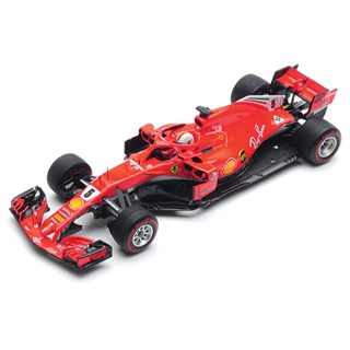 Look Smart Ferrari SF71H - 1st 2018 Canadian Grand Prix - #5 S. Vettel 1:43