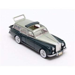 Matrix Rolls-Royce Silver Cloud Estate Wagon Harold Radford Picnic 1959 - Green/Metallic Green 1:43