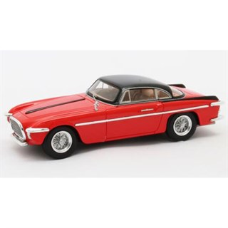 Matrix Ferrari 212 Inter Coupe Vignale 1953 - Red/Black 1:43