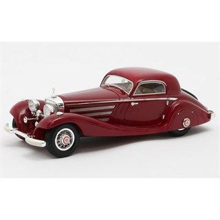 Matrix Mercedes 540K W29 Spezial Coupe 1936 - Red 1:43