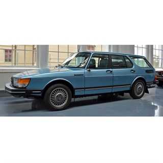 Matrix Saab 900 Safari Estate 1990 - Blue 1:43