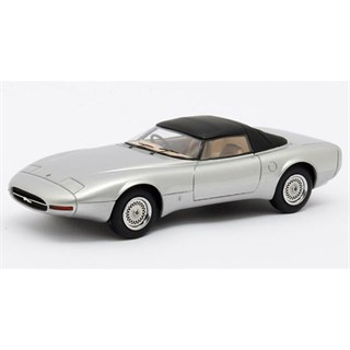 Matrix Jaguar XJ Spider Concept Pininfarina 1978 Closed - Silver 1:43