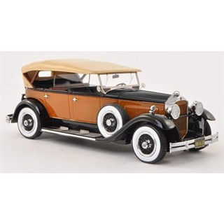Neo Packard 733 Standard 8 1930 - Orange/Black 1:43