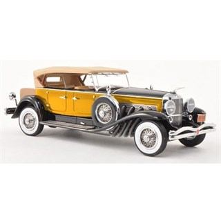Neo Duesenberg Model J Tourster 1930 - Yellow 1:43