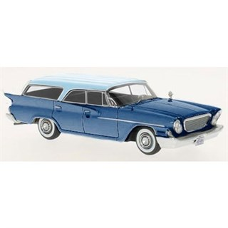 Neo Chrysler Newport Wagon 1961 - Metallic Light Blue 1:43