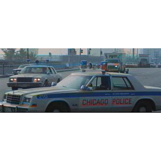 Plymouth Fury 1980 - Chicago Police 1:43