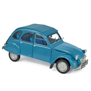 Norev Citroen 2CV 6 Club 1982 - Lagune Blue 1:18
