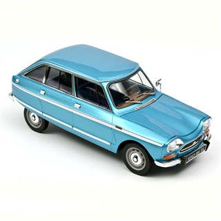Norev Citroen Ami Super 1974 - Delta Blue Metallic 1:18