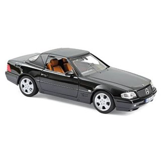 Norev Mercedes SL 500 1999 - Black 1:18