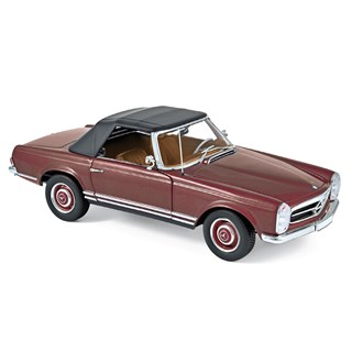 Norev Mercedes 230 SL 1963 - Dark Red 1:18