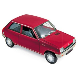 Norev Renault 5 1972 - Red 1:18