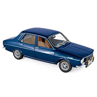 Norev Renault 12 TS 1973 - Dark Blue Metallic 1:18