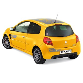 Norev Renault Clio RS F1 Team Edition 2007 - Sirius Yellow 1:18