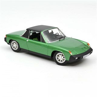 Norev Porsche 914 2.0 1975 - Green Metallic 1:18