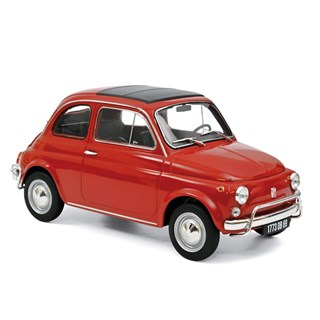Norev Fiat 500 L 1968 - Corrallo Red 1:18