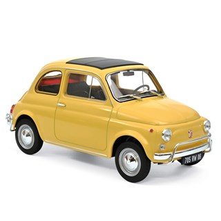 Norev Fiat 500 L 1968 - Yellow 1:18