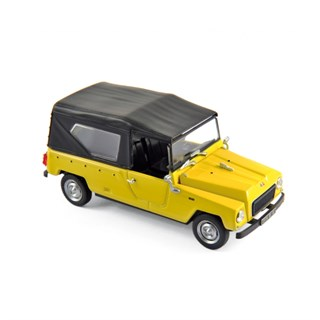 Norev Renault Rodeo 4 1972 - Yellow 1:43