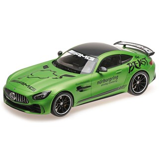 Minichamps Mercedes-AMG GT-R 2017 - Ring Taxi 1:43
