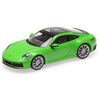 Minichamps Porsche 911 Carrera 4S Coupe 2019 - Green 1:43