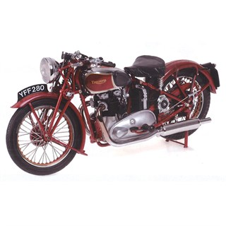 Minichamps Triumph Speed Twin 1939 - Red 1:12