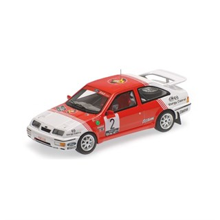 Minichamps Ford Sierra RS Cosworth - 1st 1987 Lotto Haspengouw Rally - #2 1:43