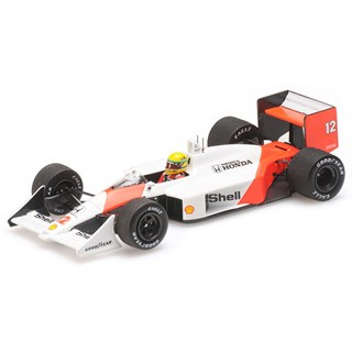 Minichamps McLaren MP4/4 - 1988 - #12 A. Senna 1:43