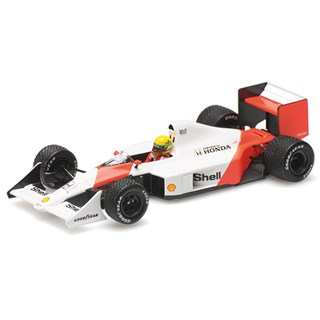 Minichamps McLaren MP4/4B Test Car - 1988 - A. Senna 1:43