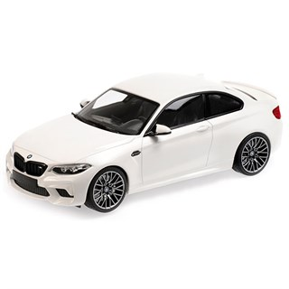 Minichamps BMW M2 Competition 2019 - White 1:18