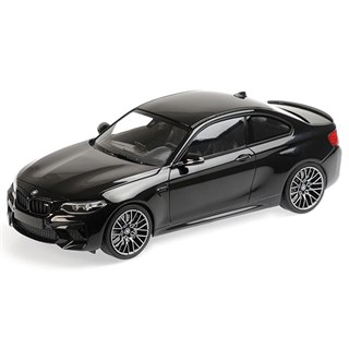 Minichamps BMW M2 Competition 2019 - Black Metallic 1:18