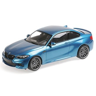 Minichamps BMW M2 Competition 2019 - Blue Metallic 1:18