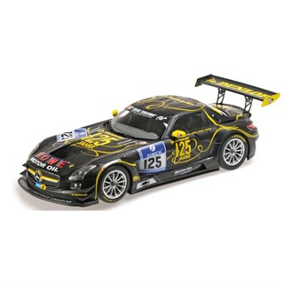 Minichamps Mercedes SLS AMG GT3 - 2013 Nurburgring 24 Hours - #125 1:18